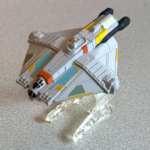 Hot Wheels Star Wars Rebels Ghostship diecast model